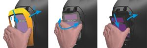 Welding helmet Clean-AIR CA-20 spare parts replacement